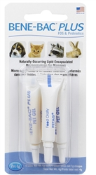 Bene-Bac Plus FOS & Probiotic Pet Gel, 4 x 1 gm Tubes