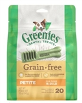 Greenies Grain Free Dental Dog Treats - Petite, Pkg Of 20