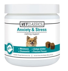 Vet Classics Stress & Anxiety, 120 Soft Chews