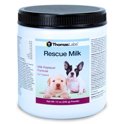 Thomas Labs Rescue Milk For Puppies, 12 oz Powder