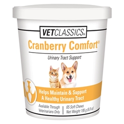 Vet Classics Cranberry Comfort Soft Chews, 65 Count