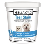 Vet Classics Tear Stain Supplement, 65 Soft Chews