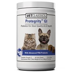 Vet Classics Protegrity GI For Dogs & Cats, 20 Soft Chews