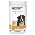 Vet Classics Omega 3-6-9 Skin & Coat Supplement, 14 oz Powder