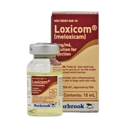 Loxicom (meloxicam) Injection 5mg/ml, 10 ml