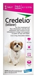 Credelio (Lotilaner) Chewable Tablet For Dogs 6.1-12 lbs, 1 Chew