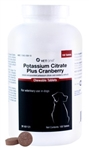 VetOne Potassium Citrate Plus Cranberry, 100 Chewable Tablets