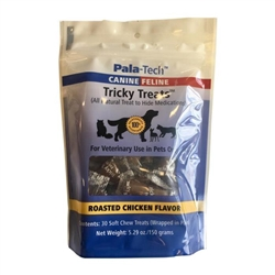 Pala-Tech Canine Tricky Treats, Roasted Chicken, 30 Count