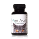 AminAvast Kidney Support For Cats, 60 Capsules