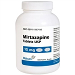 Mirtazapine 15 mg 30 Tablets