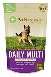 Pet Naturals Daily Multi for Dogs, 30 Chews