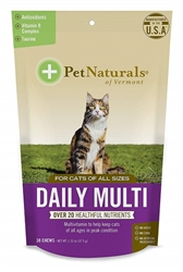 Pet Naturals Daily Multi For Cats, 30 Chews