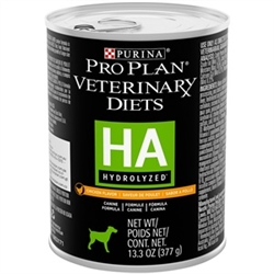 Purina HA Hypoallergenic Canine Formula, Chicken - 12-13.3 oz Cans
