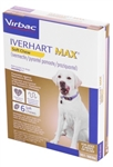 Iverhart MAX Soft Chew For Medium Breeds 51-100 lbs, 6 Pack