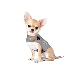ThunderShirt Sport Dog Anxiety Jacket, Platinum, XX-Small