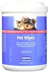 Davis Pet Wipes, 160 Count