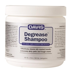Davis Degrease Shampoo, 16 oz