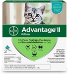 Advantage II For Kittens 1-5 lbs, 2 Pack