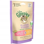 Feline Greenies Flavor Fusion Dental Treats - Savory Salmon Flavor and Oven Roasted Chicken Flavor, 2.5oz