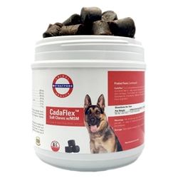 CadaFlex Soft Chews with MSM For Large Dogs,  84 Count