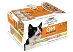 Purina OM Overweight Management Feline Savory Selects Variety Pack, 5.5 oz Can (CASE 24)