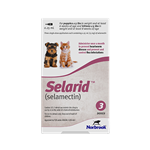 Selarid (selamectin) For Puppies & Kittens Up to 5 lbs, 3 Doses