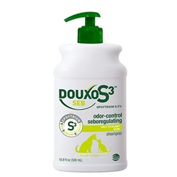 DOUXO S3 SEB Shampoo, 16.9 oz (500 ml)