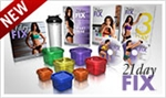21 day Fix DVDs & Containers Only (no booklets)