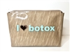 I Love Botox Cosmetic Bag