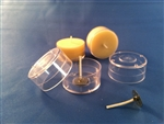 Tea-Light Package (100 Wicks and Containers)
