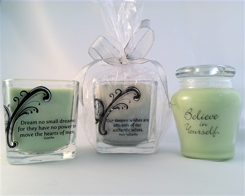 Intention Candles from the Sisterhood of the Traveling Pots