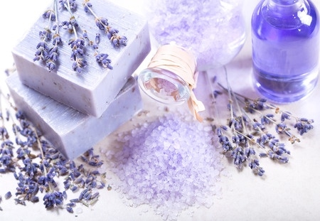 4 oz. bottle of Lavender Luxury fragrance oil for candles. Synthetic Carrier. 1/2 oz-1 oz. per pound of wax.
