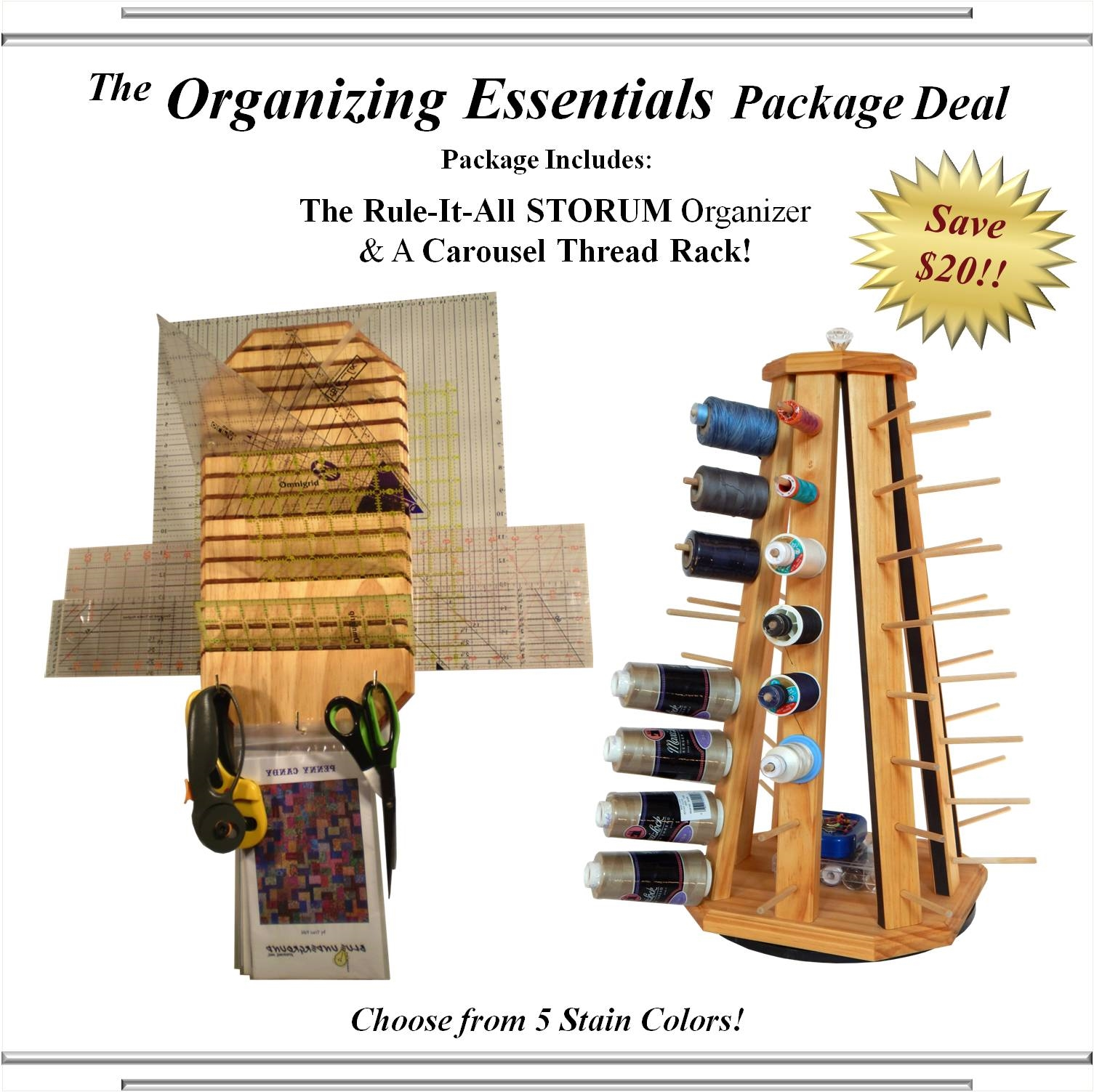 The Organizing Essentials Package Deal
