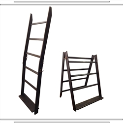 Weathered Black 5 Rung LadderRack