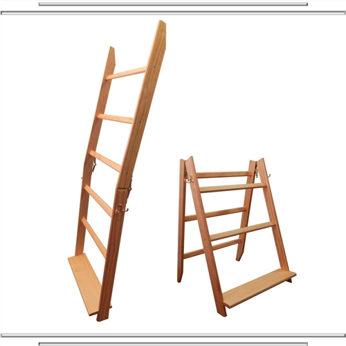 Golden Pecan 5 Rung LadderRack