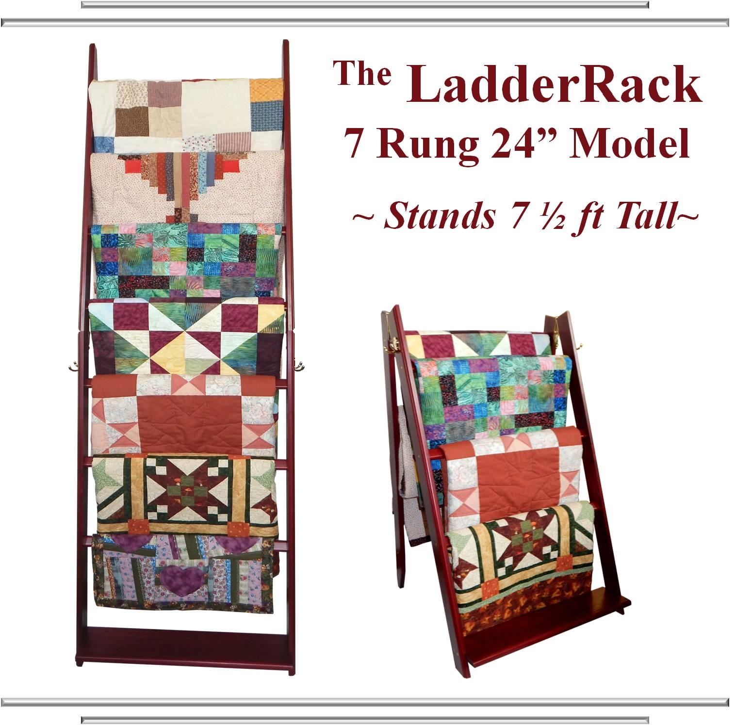 display wooden quilt to and quilting inc std edge racks shop blocks rack