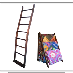 American English LadderRack Quilt Display Ladder- 7 Rung Model