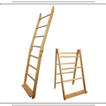 Golden Pecan LadderRack Quilt Display Ladder- 7 Rung Model