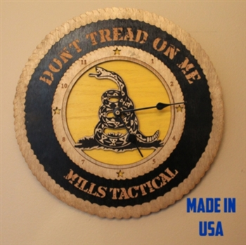 don't tread on me tea party Wall Clock