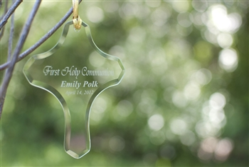 Personalized Baptismal Ornament