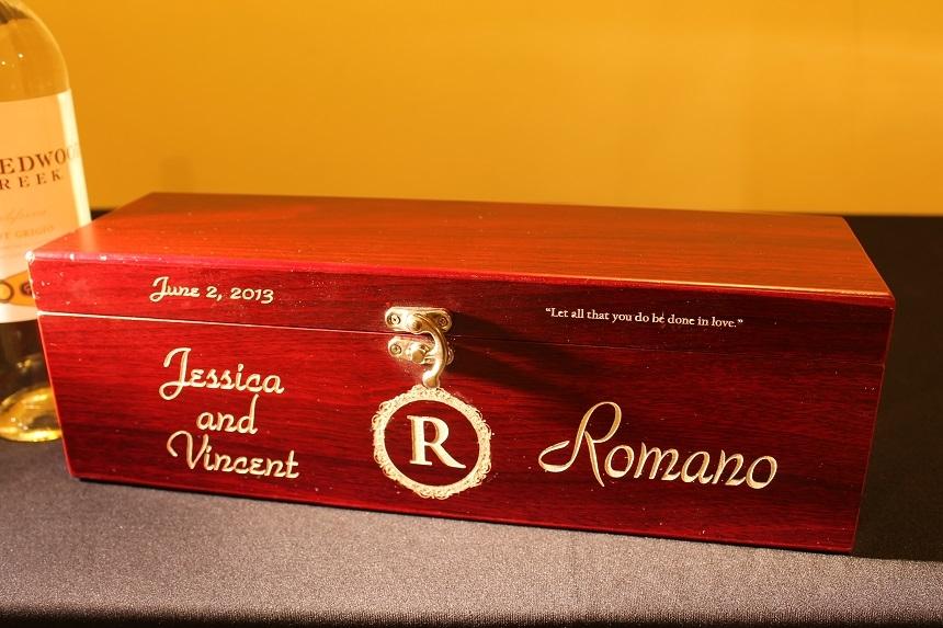 Personalized wine box ...