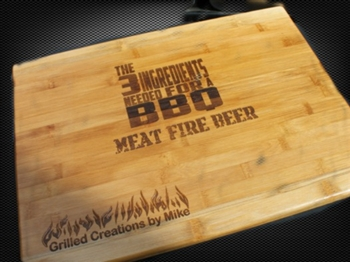 Personalized BBQ Cutting Board