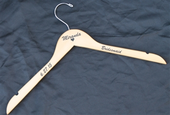 Wedding Hanger with Name