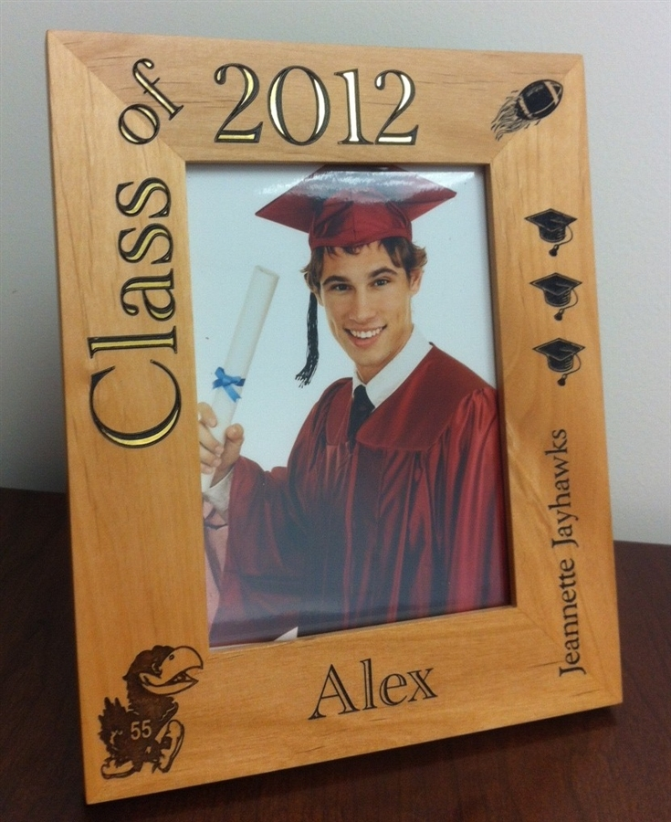 personalized graduation wood picture frame