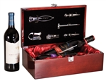 Wood Wine Box with custom engraving