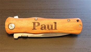 Engraved Groomsman Knife