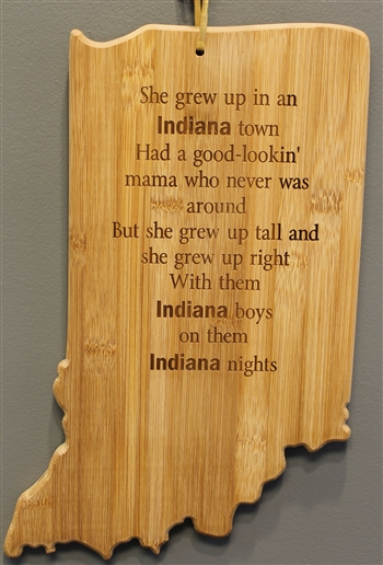 Tom Petty Inspired Indiana Cutting Board