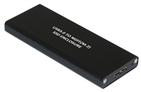 USB 3.0 External 5Gbps To NGFF M.2 SATA SSD Internal 6Gbps Enclosure Solid State Drive