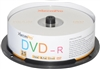Blank CD DVD-R 16x 4.7GB 120 Minute DVD 25 Pack Storage Media in Spindle