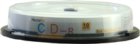Blank CD CD-R 52X 700MB 80Min CD 10 Pack Storage Media in Spindle